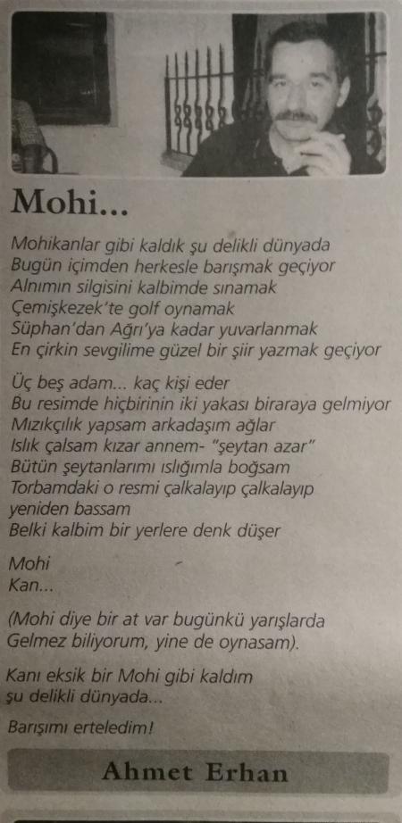 ahmet erhan mohi