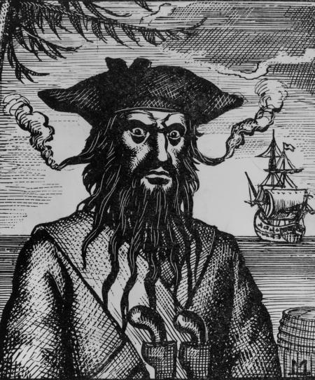 Blackbeard korsan