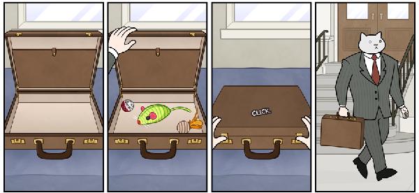 kedi karikatur 2