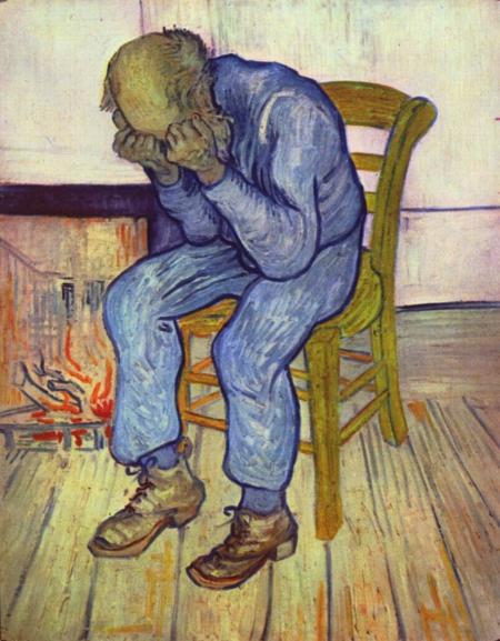 van gogh yasli adam sorrow