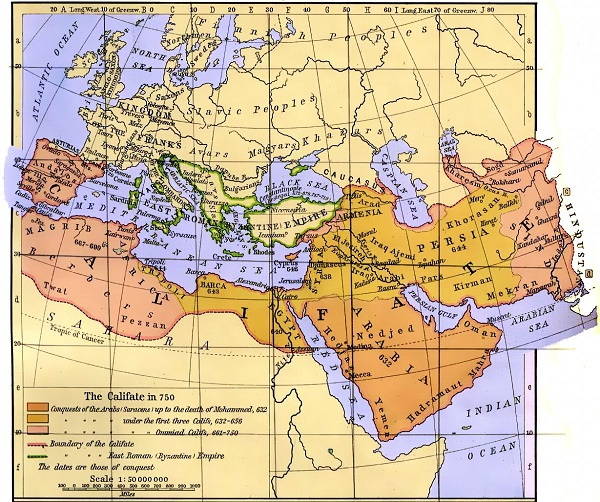 the-umayyad-caliphate-spanned-579-million-square