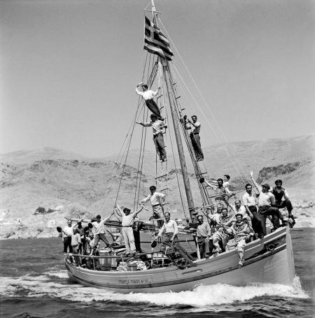 balkan eski yunan tekne
