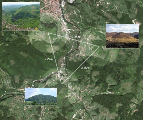 bosna piramitleri harita