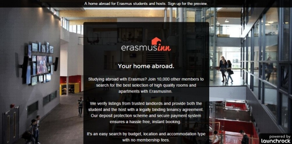 launch erasmusinn
