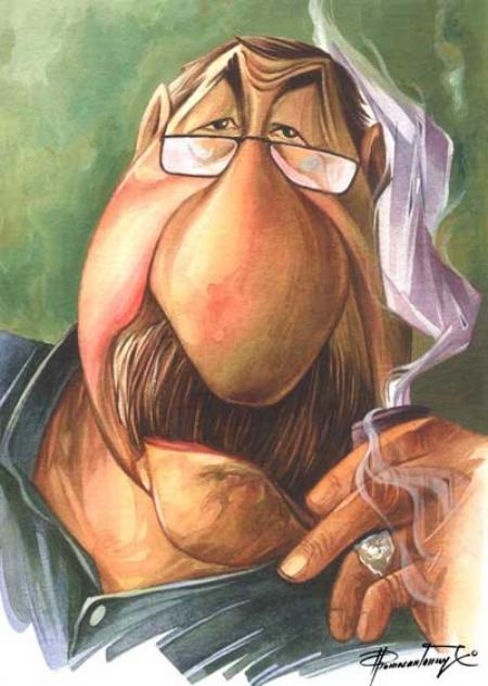 gunter grass karikatur