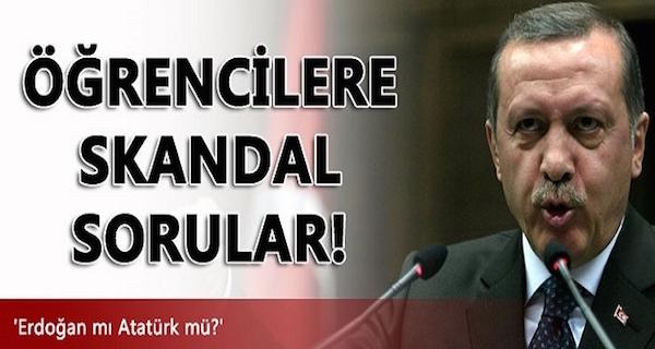 skandal soru