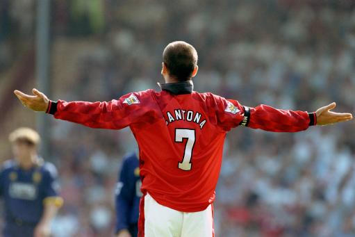 Eric Cantona, Manchester United gets booked