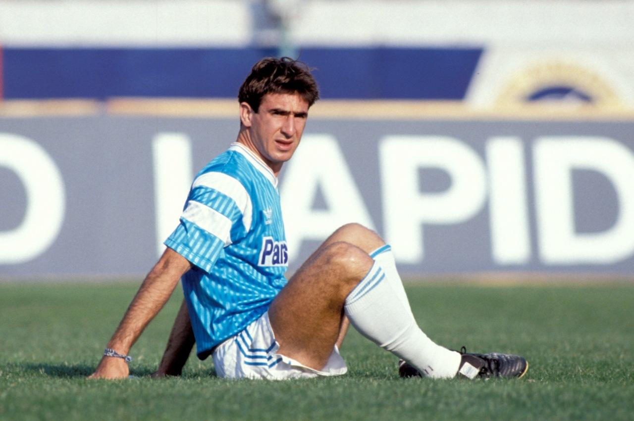 Eric_Cantona_Olympique Marseille_Sakatlanma