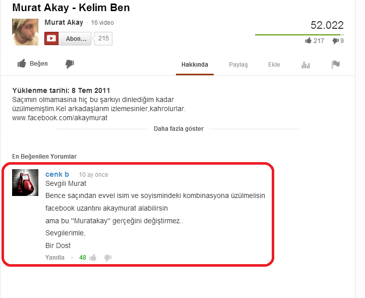 Youtube_Turkce