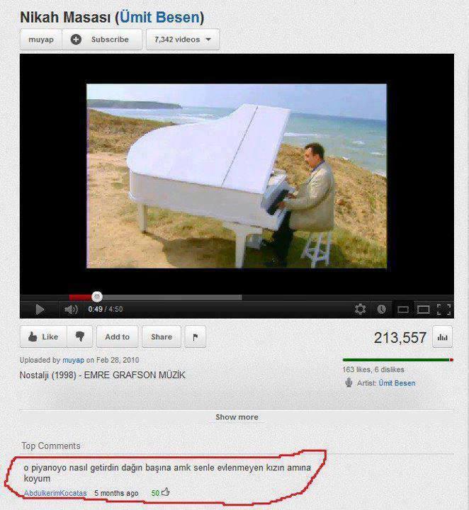 Youtube_Yorumları_Piyano