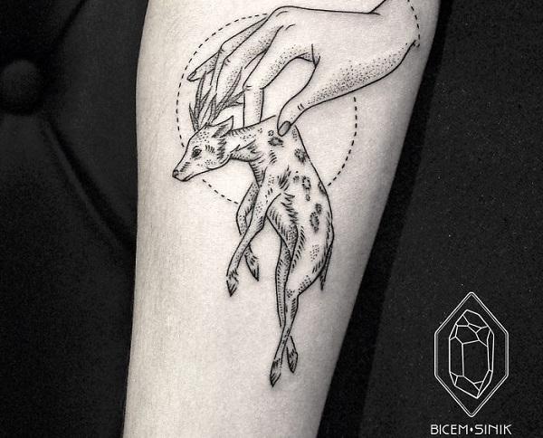 bicem-tattoo-geyik