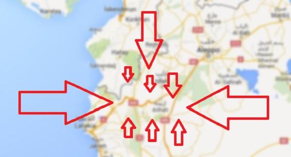 hatay map