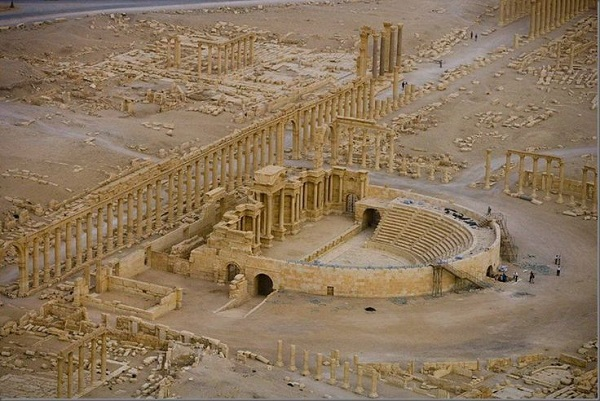 roma tiyatrosu palmira