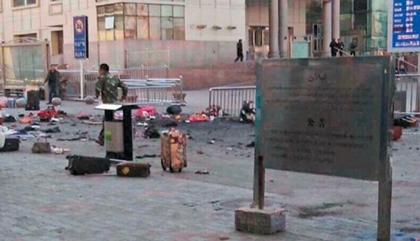 TERROR ATTACK IN XINJIANG KILLS THREE