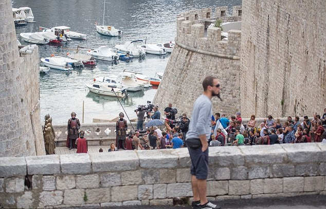 game of cersei set dubrovnik