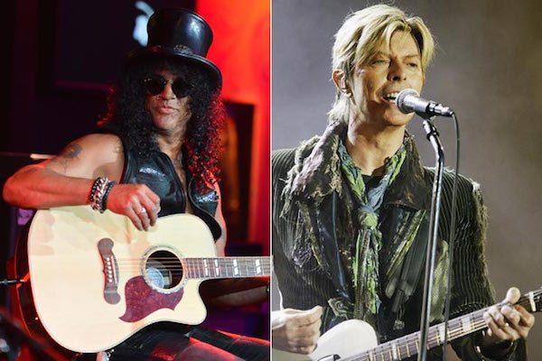 2. David Bowie xxx Slash