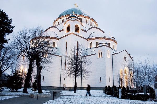 Aziz Sava Katedrali (*) Saint Sava Cathedral