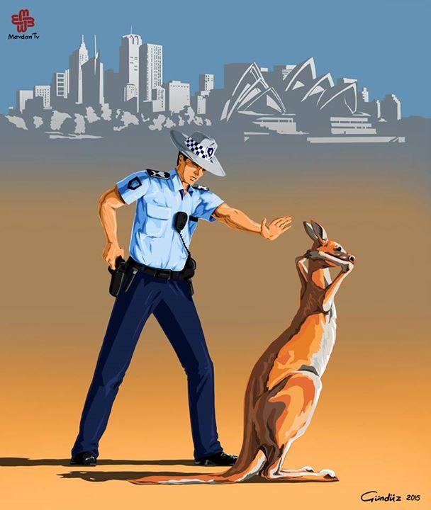 avustralya-polis-kanguru