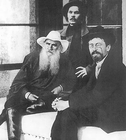 cehovTolstoy-Maxim-Gorky-and-Anton-Chekhov-listelist