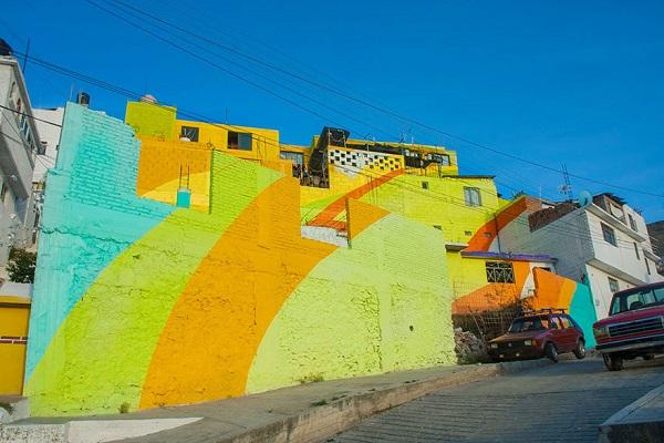 renkli evler