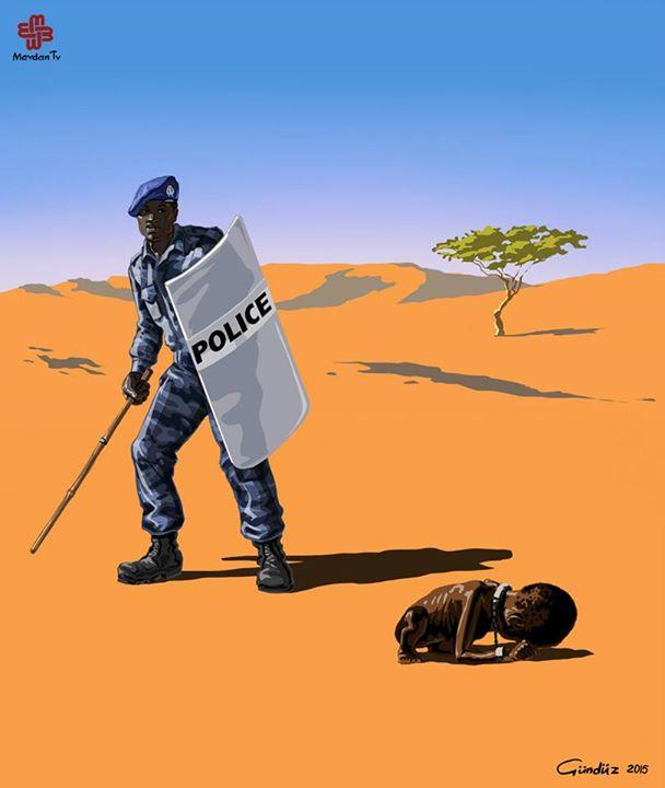 sudan-polis-illustrasyon