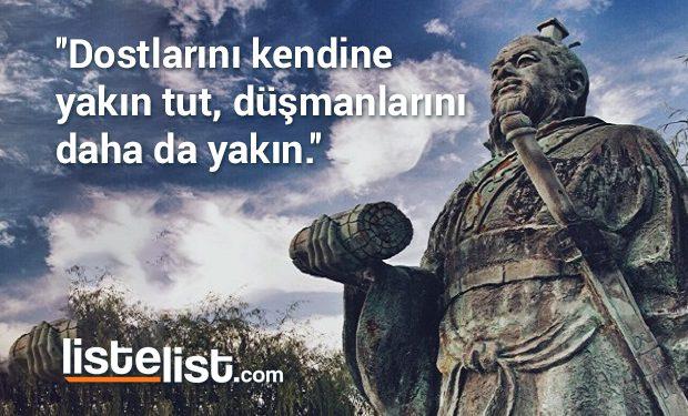 Askeri Deha Sun Tzu'dan Hayatınıza Rehberlik Edebilecek Özlü Sözler |  ListeList.com