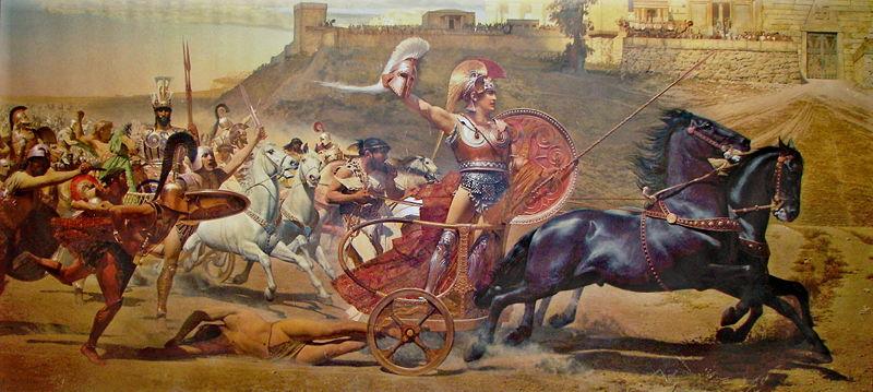 Akhillesus-savas-eski-antik