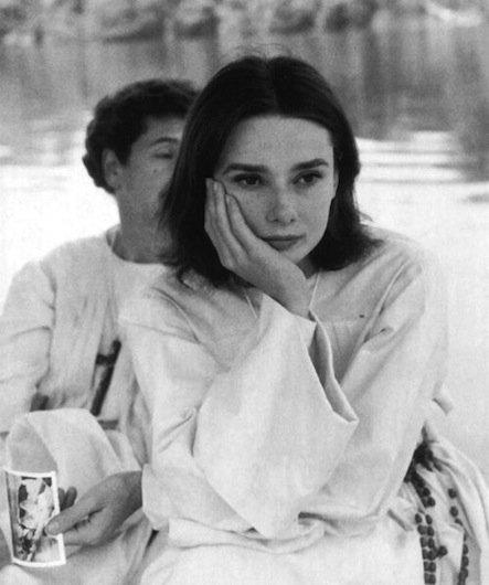 Audrey Hepburn makyajsiz
