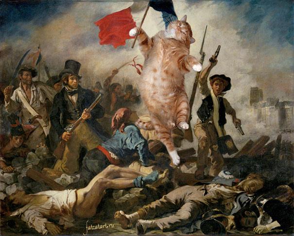 Delacroix kedi