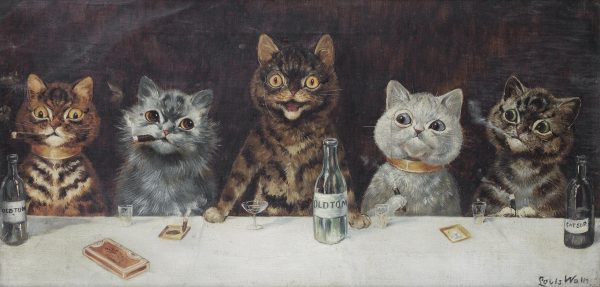 Louis_Wain_The_bachelor_party