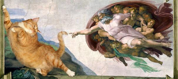 Michelangelo kedi