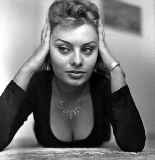 Sophia Loren makyajsiz