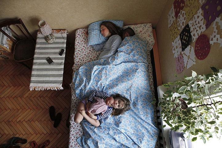 hamile ciftler uyuyor 9