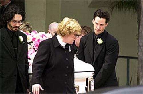 keanu funeral