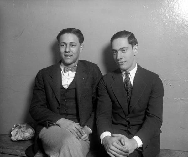 "Richard Loeb, 18, left, and Nathan Leopold, Jr., 19, were University of Chicago students in 1924 when they decided to commit the perfect crime by killing Robert ""Bobby"" Franks on May 21, 1924. Both Leopold and Loeb were sent to Stateville Prison in Joliet for 99 years for kidnapping and a life sentence for murder. Loeb was killed in prison on Jan. 28, 1936. Leopold was released from prison in 1958. (Chicago Tribune historical photo) ....OUTSIDE TRIBUNE CO.- NO MAGS,  NO SALES, NO INTERNET, NO TV, CHICAGO OUT, NO DIGITAL MANIPULATION... CHICAGO TRIBUNE"
