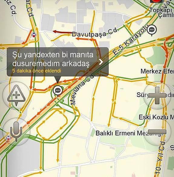 yandex navigasyon bilgileri