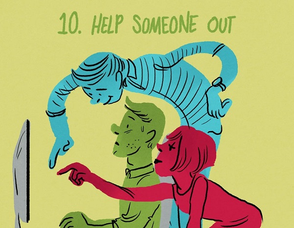 10.HelpSomeoneOut
