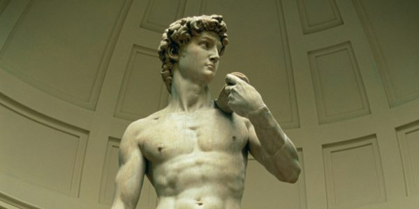 12. Yunan Heykeli Gibi Adam