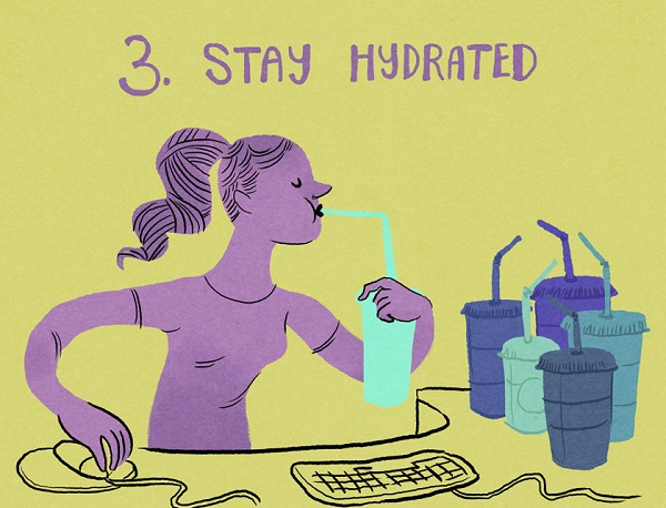 3.StayHydrated
