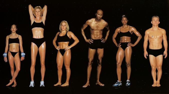 atlet body