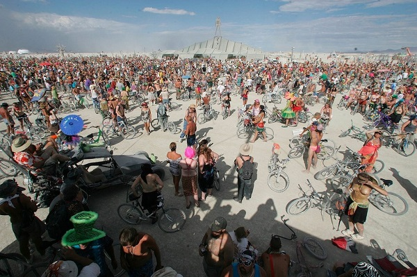 burning man bisiklet