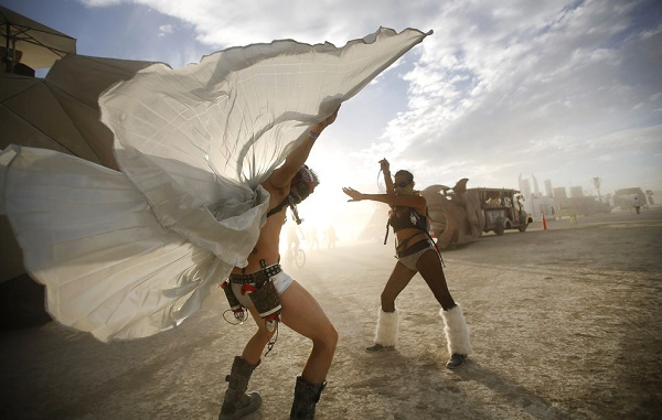 burning man dans