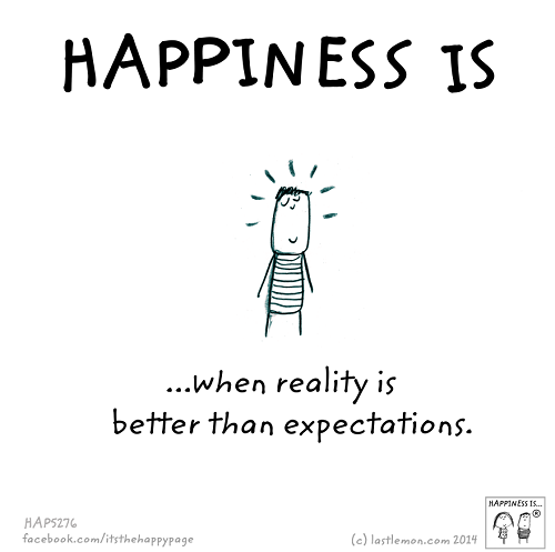 happiness ecpectation