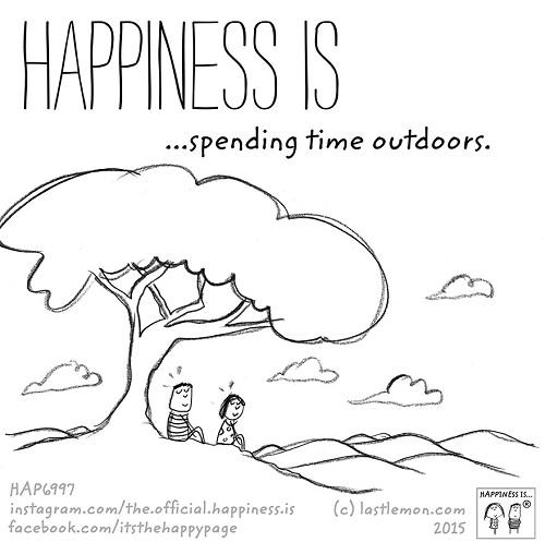 happiness outdoor