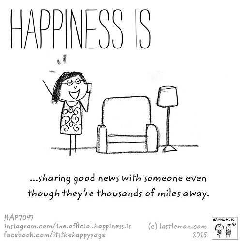happiness sharing