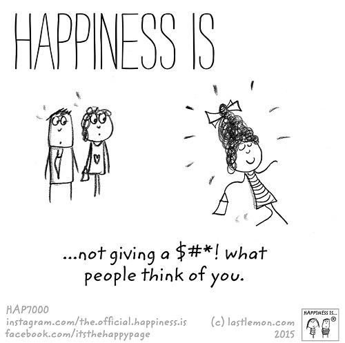 happiness shit