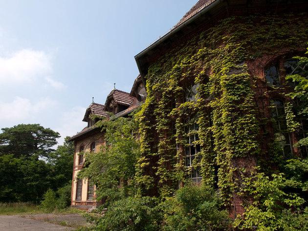 Der Versorgungskomplex in den HeilstŠtten von Beelitz