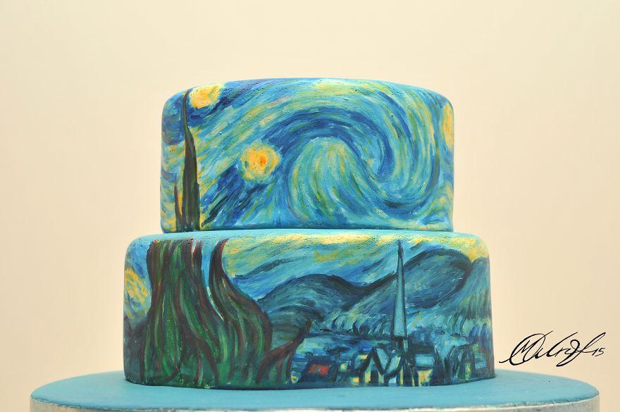 kek-pasta-cizim-sanat