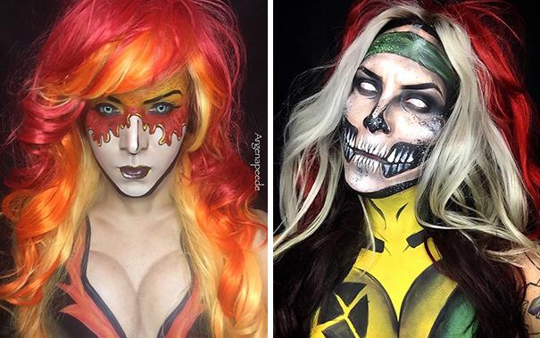 make-up-body-art-comic-book-superhero-cosplay-argenis-pinal-4