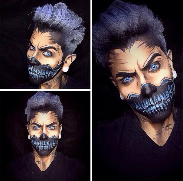 make-up-body-art-comic-book-superhero-cosplay-argenis-pinal-8